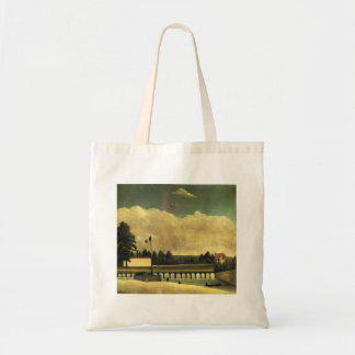 Henri Rousseau- The Dam Tote Bags