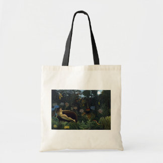 Henri Rousseau - The Dream Canvas Bags