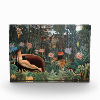 Henri Rousseau The Dream Jungle Flowers Naive Art Awards