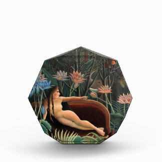 Henri Rousseau The Dream Jungle Flowers Painting Acrylic Award