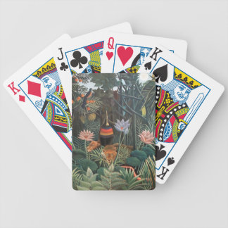 Henri Rousseau The Dream Jungle Flowers Surrealism Bicycle Playing Cards