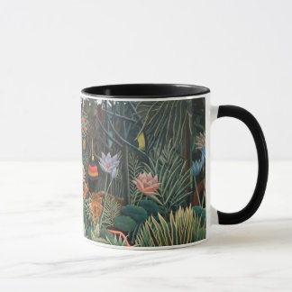 Henri Rousseau The Dream Jungle Flowers Surrealism Mug
