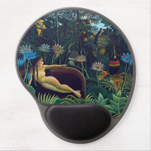 Henri Rousseau - The Dream / Le Reve Gel Mouse Pad