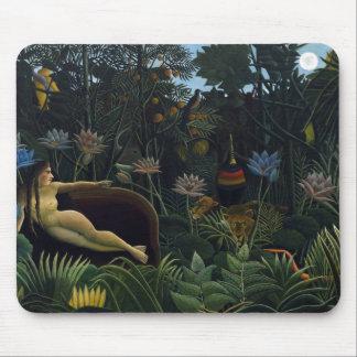 Henri Rousseau - The Dream Mouse Pad