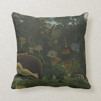 Henri Rousseau -the dream . painting. pillow