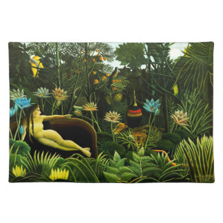 Henri Rousseau The Dream Placemat