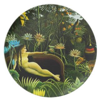 Henri Rousseau The Dream Plate