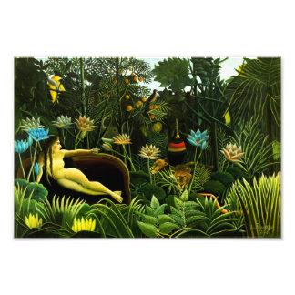 Henri Rousseau The Dream Print Photo Print