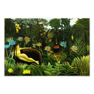 Henri Rousseau The Dream Print Photo Art