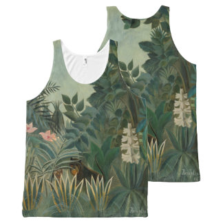 Henri Rousseau - The Equatorial Jungle Art Shirt