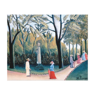 Henri Rousseau - The Luxembourg Gardens Canvas Print