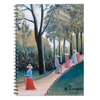 Henri Rousseau - The Luxembourg Gardens Notebook