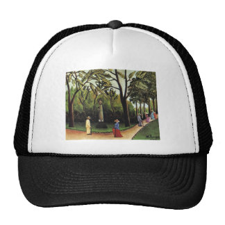 Henri Rousseau- The Monument to Chopin Luxembourg Trucker Hat