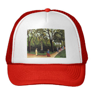 Henri Rousseau- The Monument to Chopin Luxembourg Mesh Hat