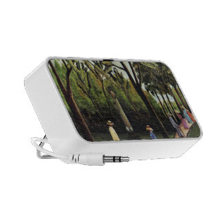 Henri Rousseau- The Monument to Chopin, Luxembourg Travelling Speaker