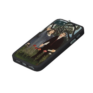 Henri Rousseau- The Muse Inspiring the Poet Case For iPhone 5/5S