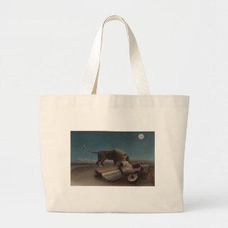 Henri Rousseau - The Sleeping Gypsy Canvas Bag