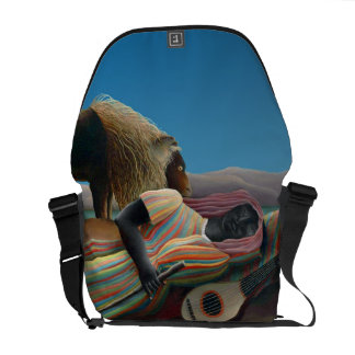 Henri Rousseau - The Sleeping Gypsy Courier Bag