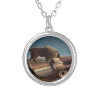 Henri Rousseau The Sleeping Gypsy Lion Moon Night Jewelry
