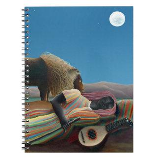 Henri Rousseau - The Sleeping Gypsy Notebook