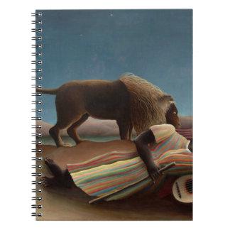 Henri Rousseau The Sleeping Gypsy Notebook