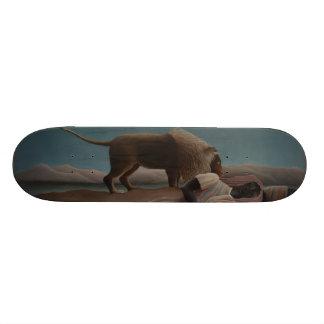 Henri Rousseau - The Sleeping Gypsy Skateboard Deck