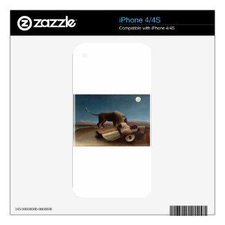Henri Rousseau The Sleeping Gypsy Skin For iPhone 4