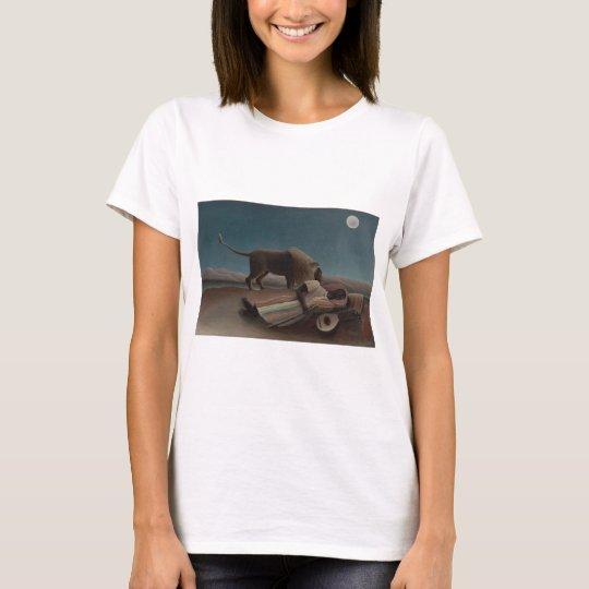 Henri Rousseau - The Sleeping Gypsy T-Shirt