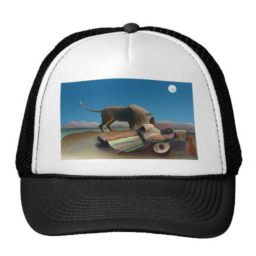 Henri Rousseau - The Sleeping Gypsy Trucker Hat