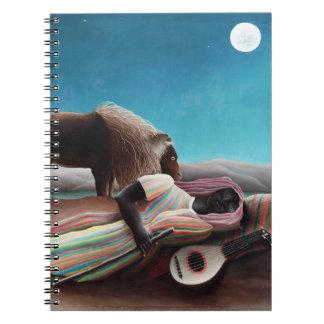Henri Rousseau The Sleeping Gypsy Vintage Notebook