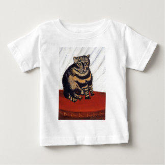 Henri Rousseau - The Tiger Cat ( Le Chat Tigre ) Baby T-Shirt