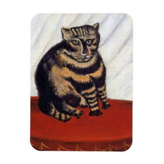 Henri Rousseau - The Tiger Cat ( Le Chat Tigre ) Magnet