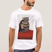 Henri Rousseau - The Tiger Cat ( Le Chat Tigre ) T-Shirt