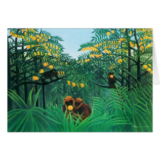 Henri Rousseau The Tropics Stationery Note Card