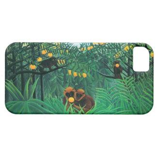 Henri Rousseau The Tropics iPhone Case iPhone 5 Cases