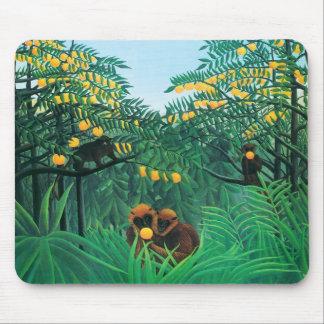 Henri Rousseau The Tropics Mouse Pad