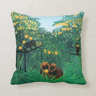 Henri Rousseau The Tropics Pillow