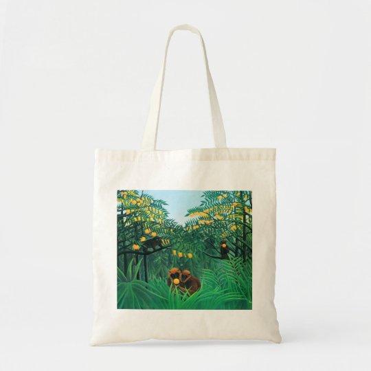 Henri Rousseau The Tropics Tote Bag
