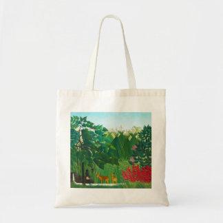 Henri Rousseau The Waterfall Tote Bag