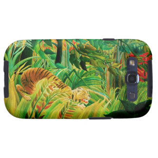 Henri Rousseau Tiger in a Tropical Storm Galaxy S3 Case