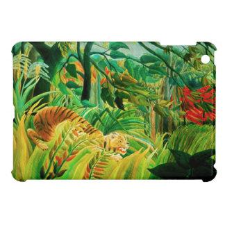 Henri Rousseau Tiger in a Tropical Storm iPad Mini Case