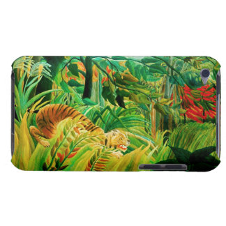 Henri Rousseau Tiger in a Tropical Storm iPod Case iPod Touch Case
