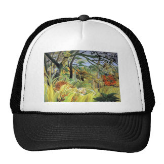 Henri Rousseau- Tiger in a Tropical Storm Trucker Hat