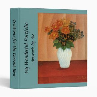 Henri Rousseau's Bouquet of Flowers (circa 1900) Binder