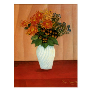 Henri Rousseau's Bouquet of Flowers (circa 1900) Postcard