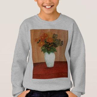 Henri Rousseau's Bouquet of Flowers (circa 1900) Sweatshirt