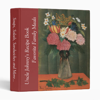 Henri Rousseau's Flowers in a Vase (1909) Binder