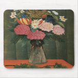 Henri Rousseau's Flowers in a Vase (1909) Mouse Pads