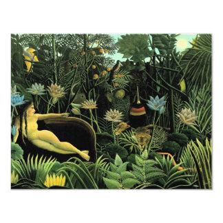 Henri Rousseau's The Dream (1910) Custom Invitations