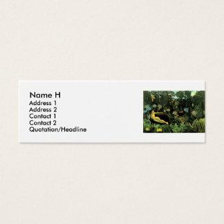 Henri Rousseau's The Dream (1910) Mini Business Card